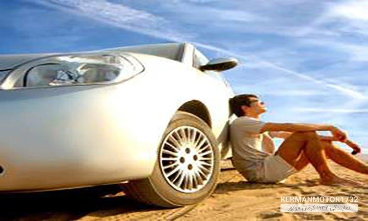 رانندگی در فصل گرم
