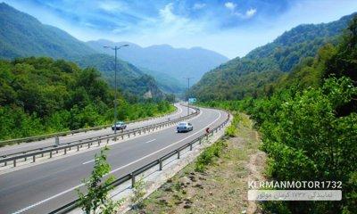 قطعه نخست آزادراه تهران – شمال افتتاح میشود