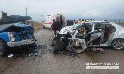ایران در محدوده قرمز تصادفات جاده ای