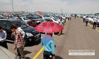 تغییر سبد خرید خودرو